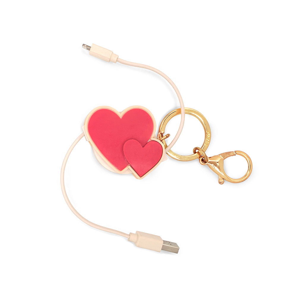 Retractable Charging Cord - Heart To Heart