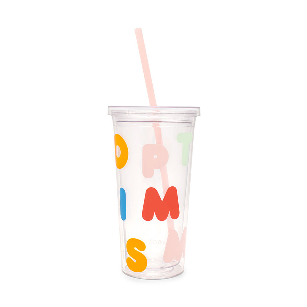 Sip Sip Tumbler - Optimism