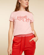 Classic Tee - Leisure Club (Cameo Pink)