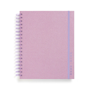 Planner 17-Month Large [2019/2020] - Lilac Glitter