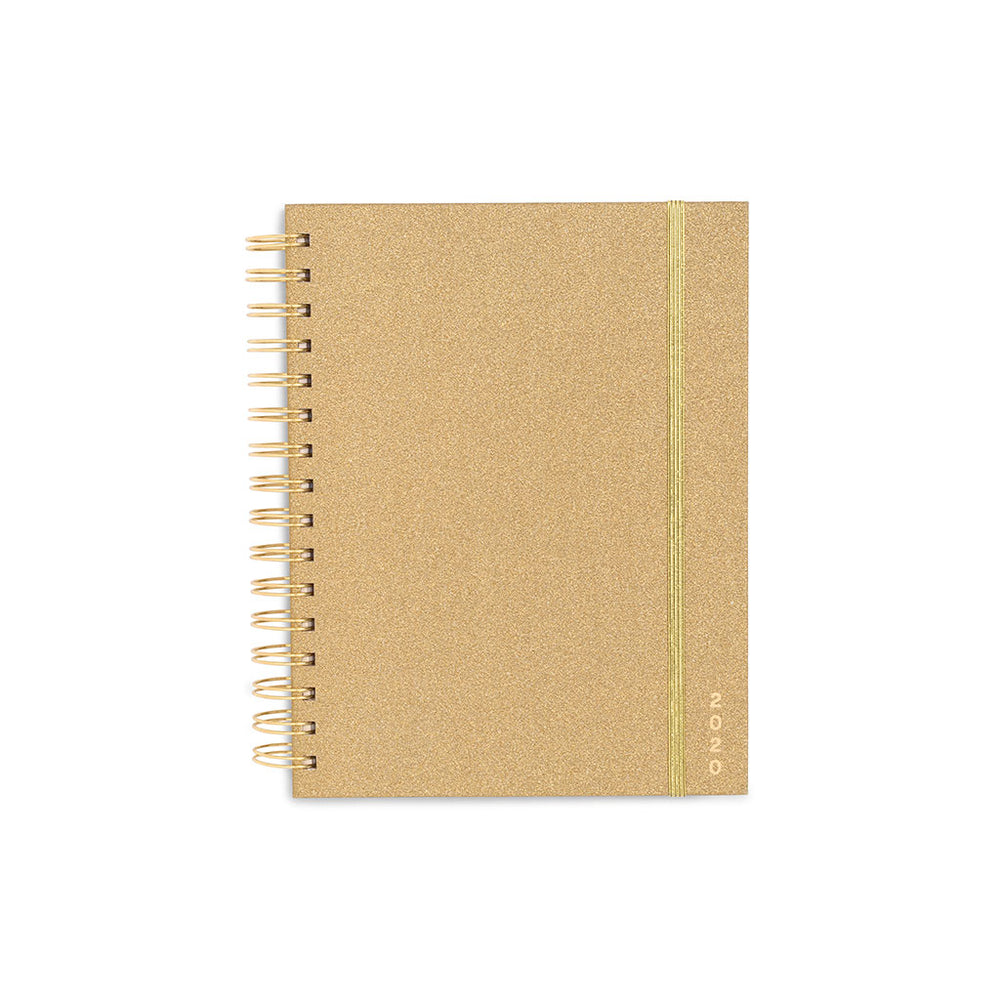 Planner 12-Month Medium [2020] - Gold Glitter