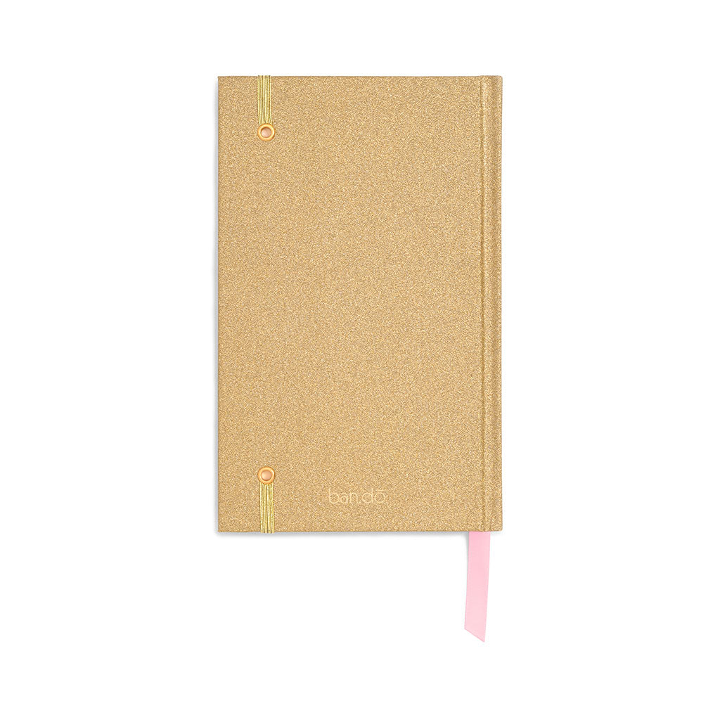 Planner 12-Month Classic [2020] - Gold Glitter