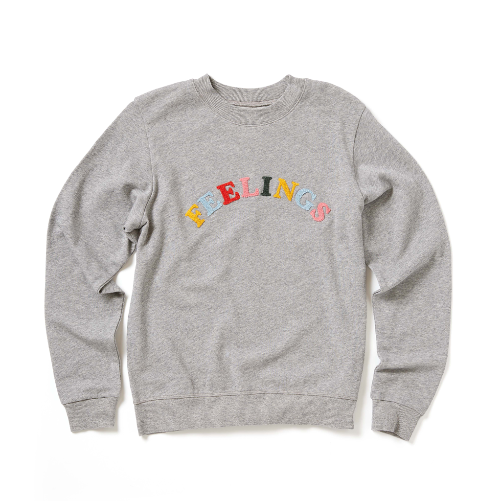 Sweatshirt - Feelings (Grey)