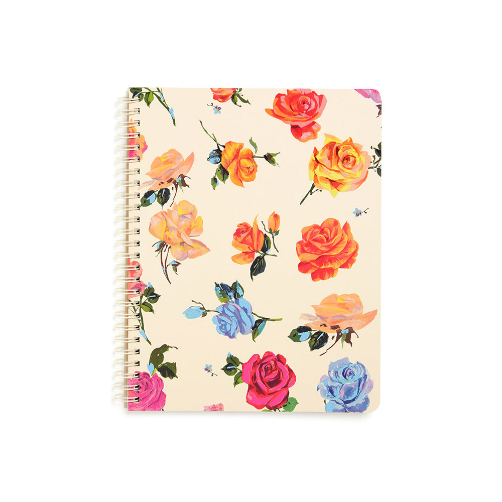 Rough Draft Mini Notebook - Coming Up Roses