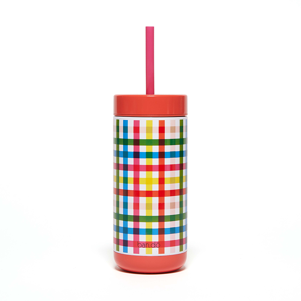 Stainless Steel Tumbler - Block Party