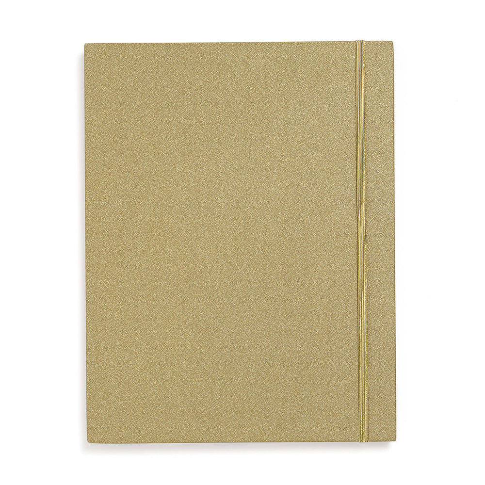 Get It Sorted File Folder - Gold Glitter