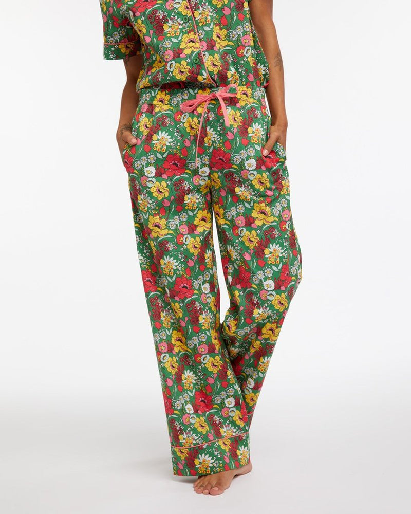 Leisure Pant - Superbloom Emerald