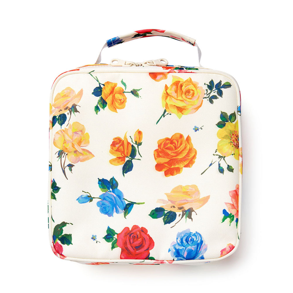 What's For Lunch? Square Lunch Bag - Coming Up Roses