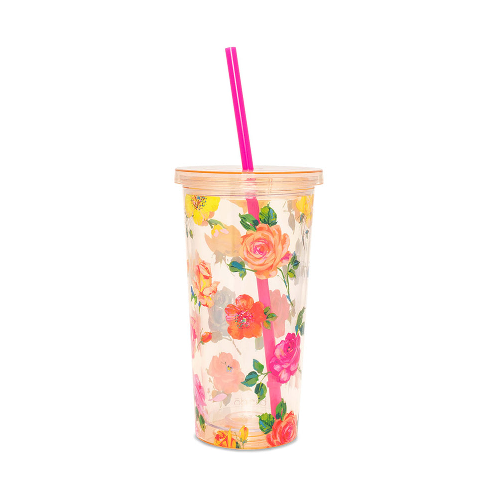 Sip Sip Tumbler - Coming Up Roses