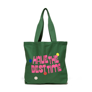 Canvas Tote - Best Time