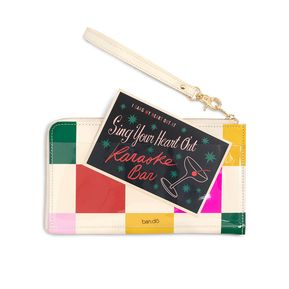 The Getaway Travel Clutch - Dance Floor