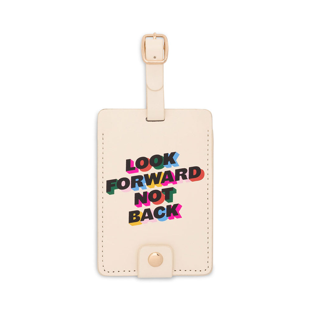 The Getaway Luggage Tag - Look Forward Not Back