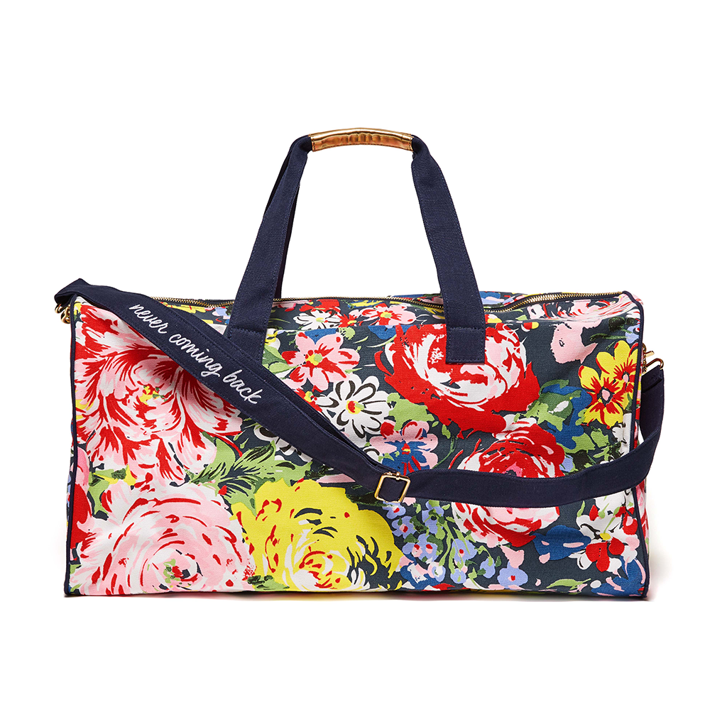 The Getaway Duffle Bag - Flower Shop
