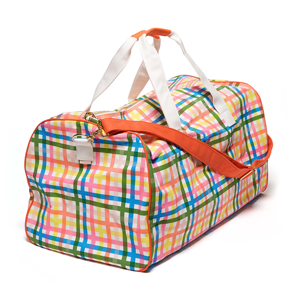 The Getaway Duffle Bag - Block Party