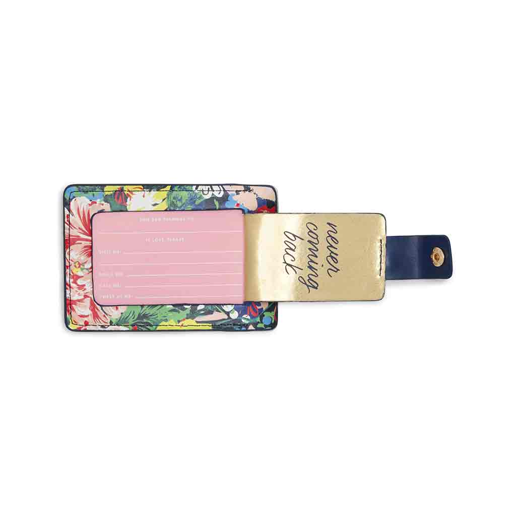 The Getaway Luggage Tag - Flower Shop