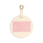 The Getaway Circle Luggage Tag - Best Time