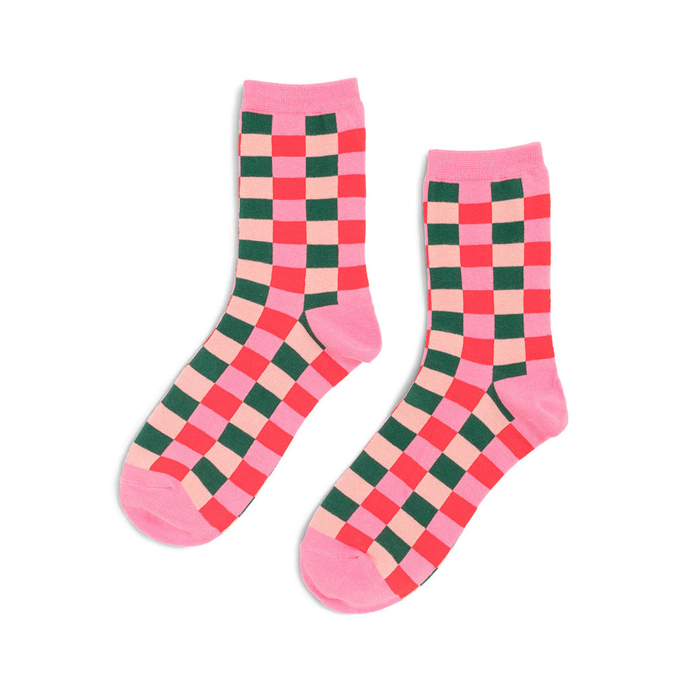 Cozy Socks - Buffalo Plaid