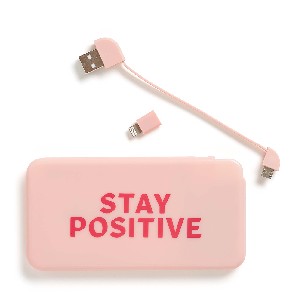Universal Power Bank - Stay Positive
