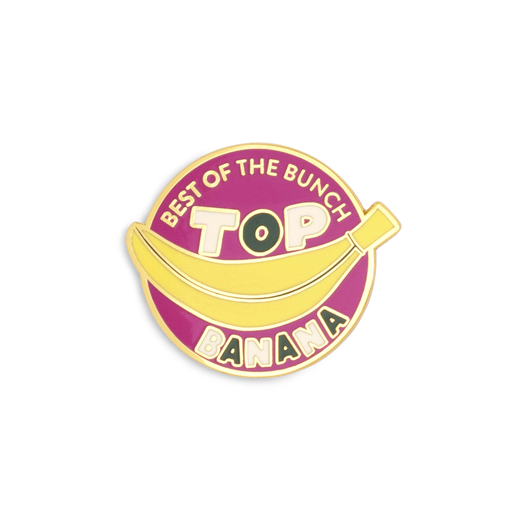 Enamel Pin - Top Banana