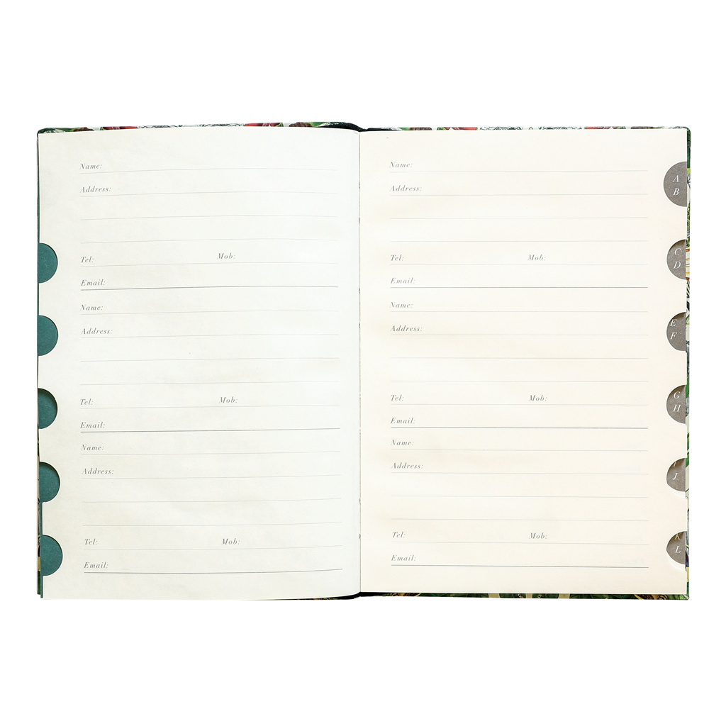 Address Book - Botanical