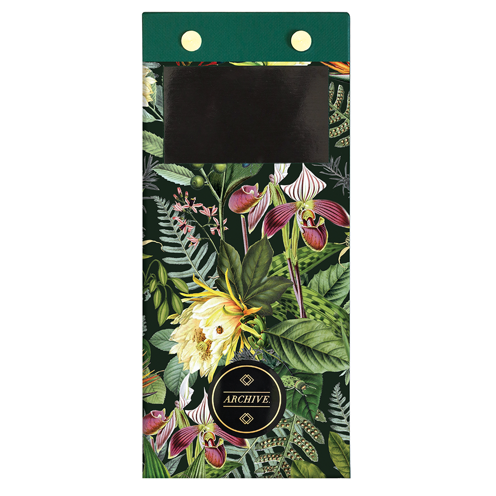 Magnetic List Pad - Botanical