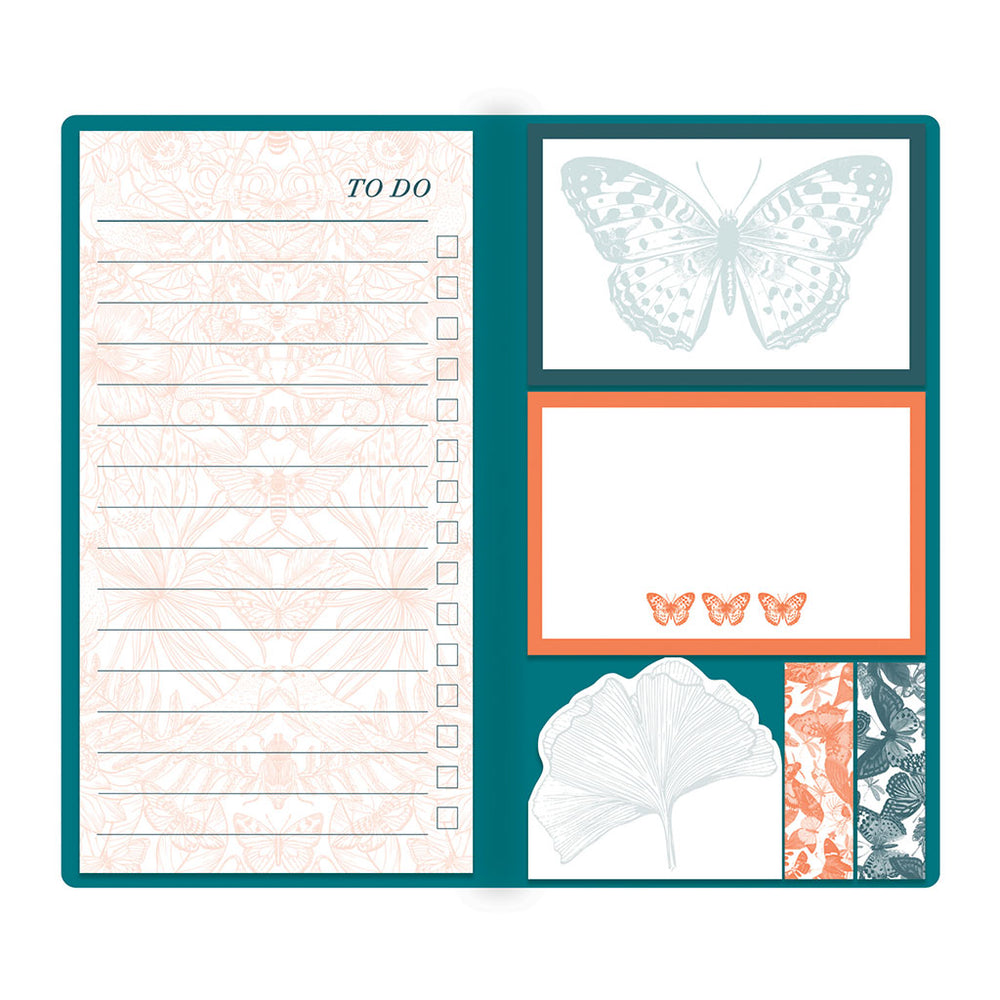 Sticky Notes Set - Ginko Leaf