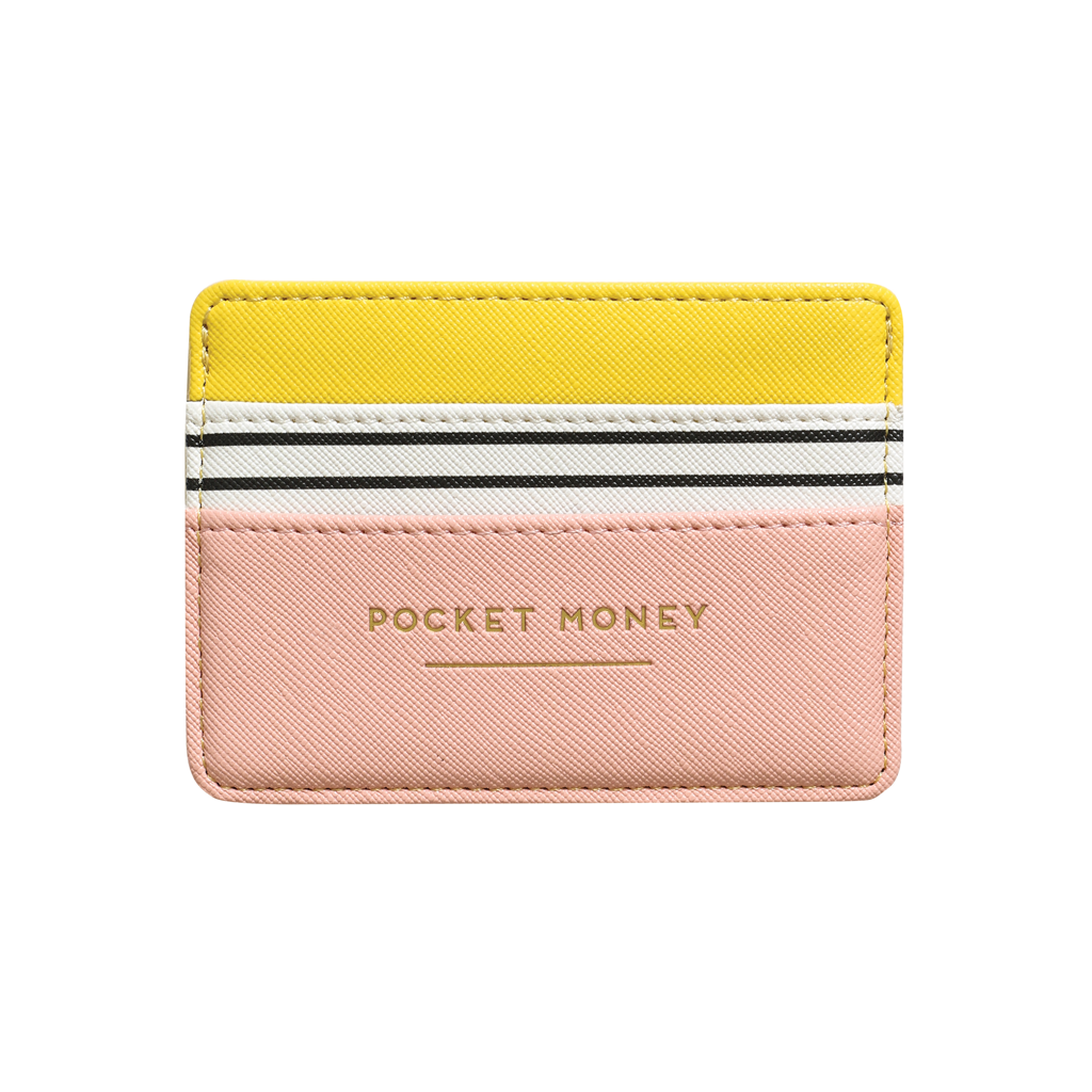 Pocket Money Card Holder - Multi
