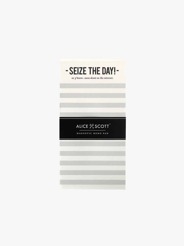 Magnetic List Pad - Seize The Day!