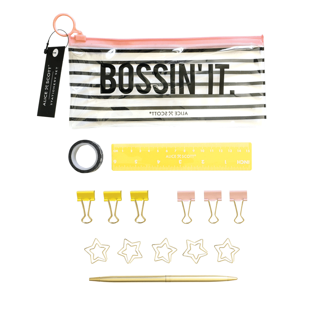 Stationery Set - Bossin' It
