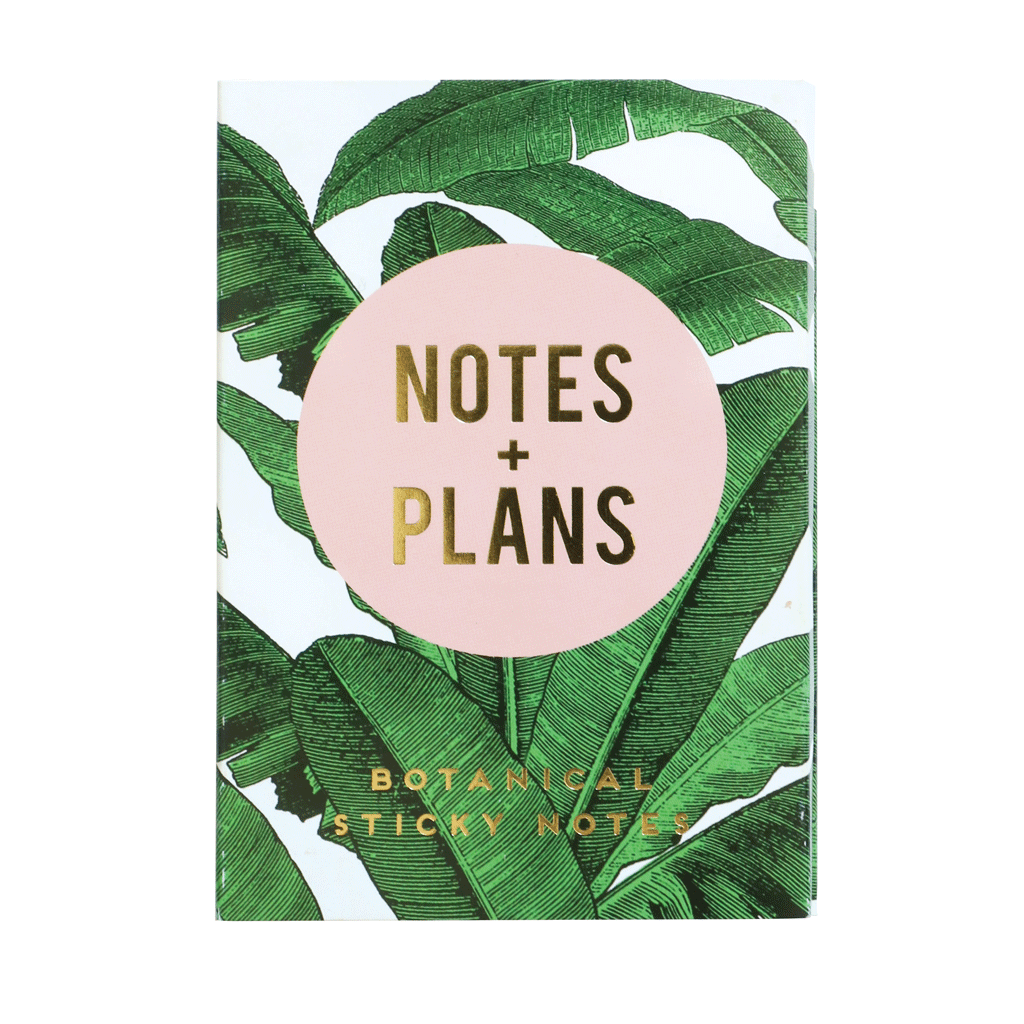 Sticky Note Set - Notes + Plans