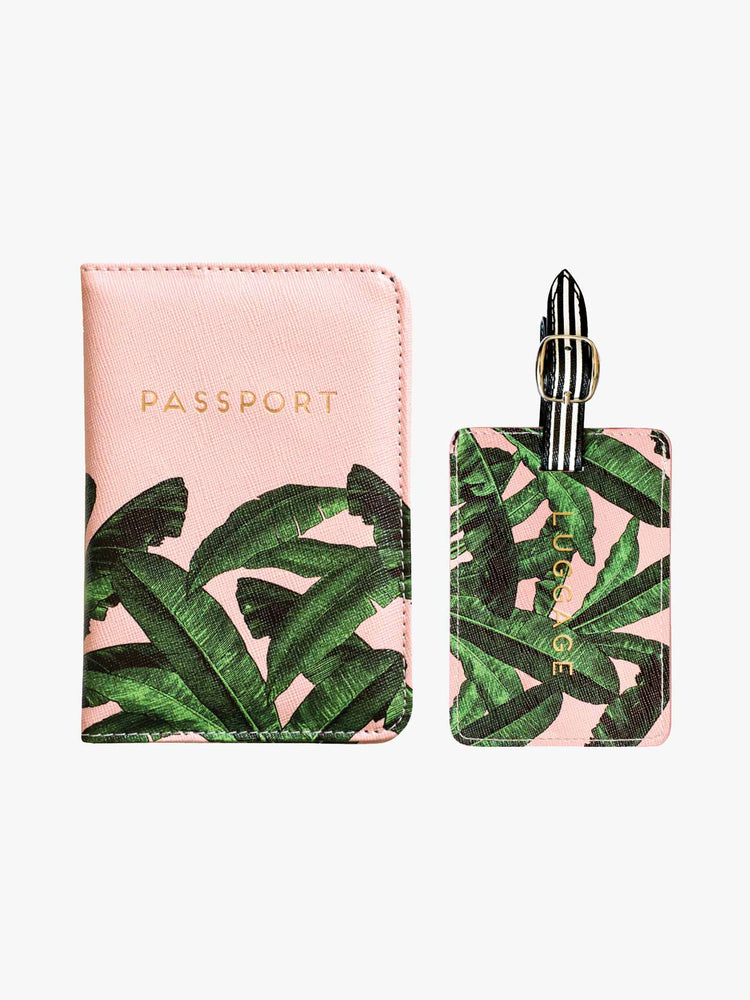 Luggage & Passport Travel Set