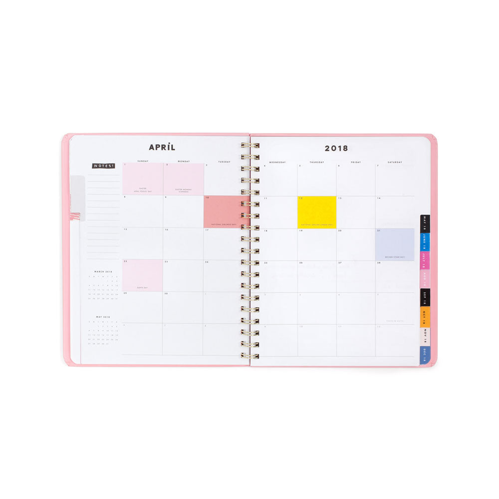 12-Month Planner [2018] - Rose Parade