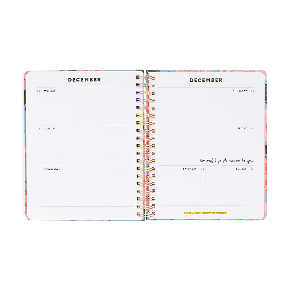 Agenda 17-Month Large [2017/2018] - I Am Very Busy