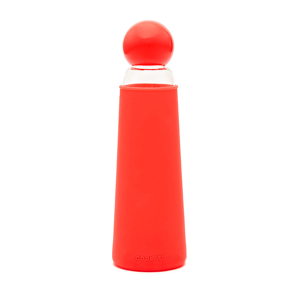 Cool It Water Bottle - Red Clear