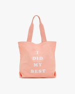 Canvas Tote - I Did My Best