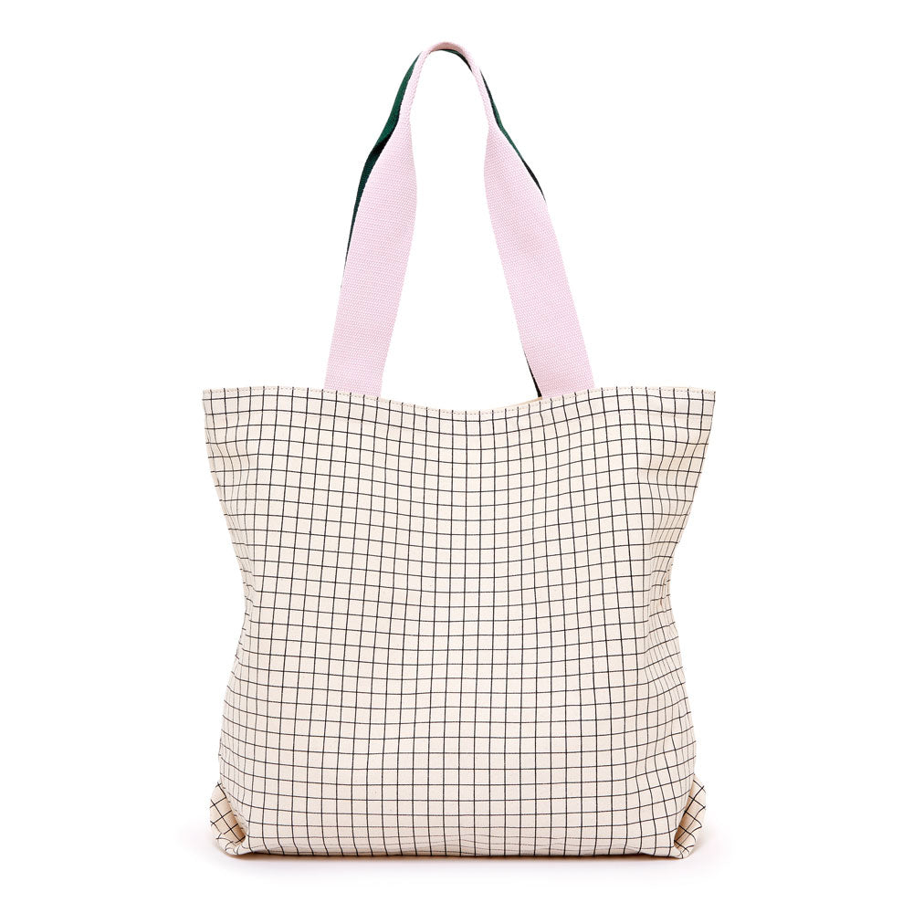 Canvas Tote - Mini Grid