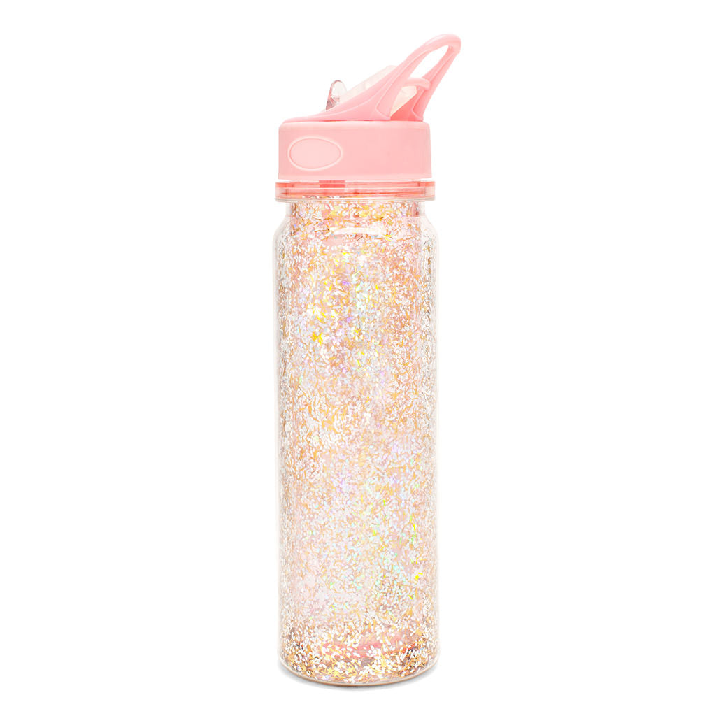 Glitter Bomb Water Bottle - Pink Stardust