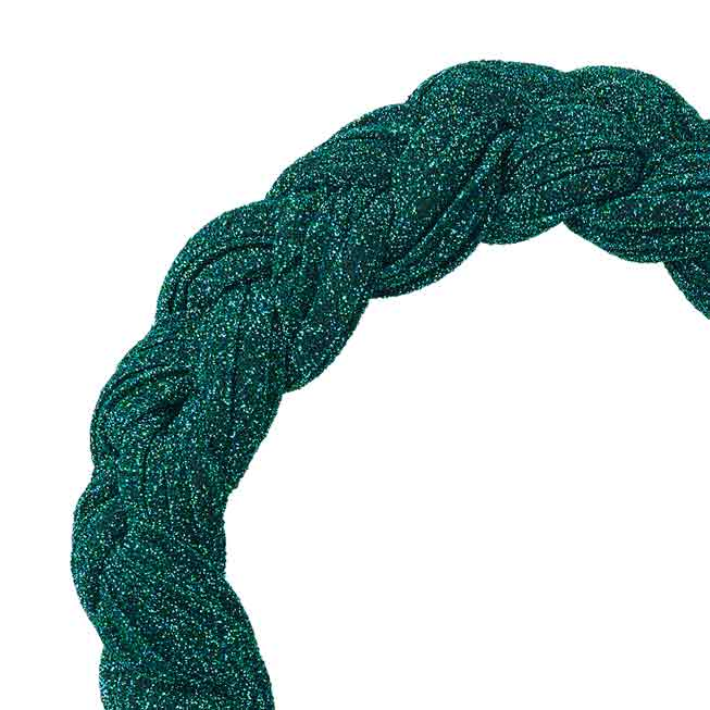 Braided Hairband - Simply Green