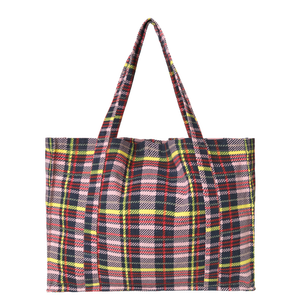 Canvas Shopper - Canni Check