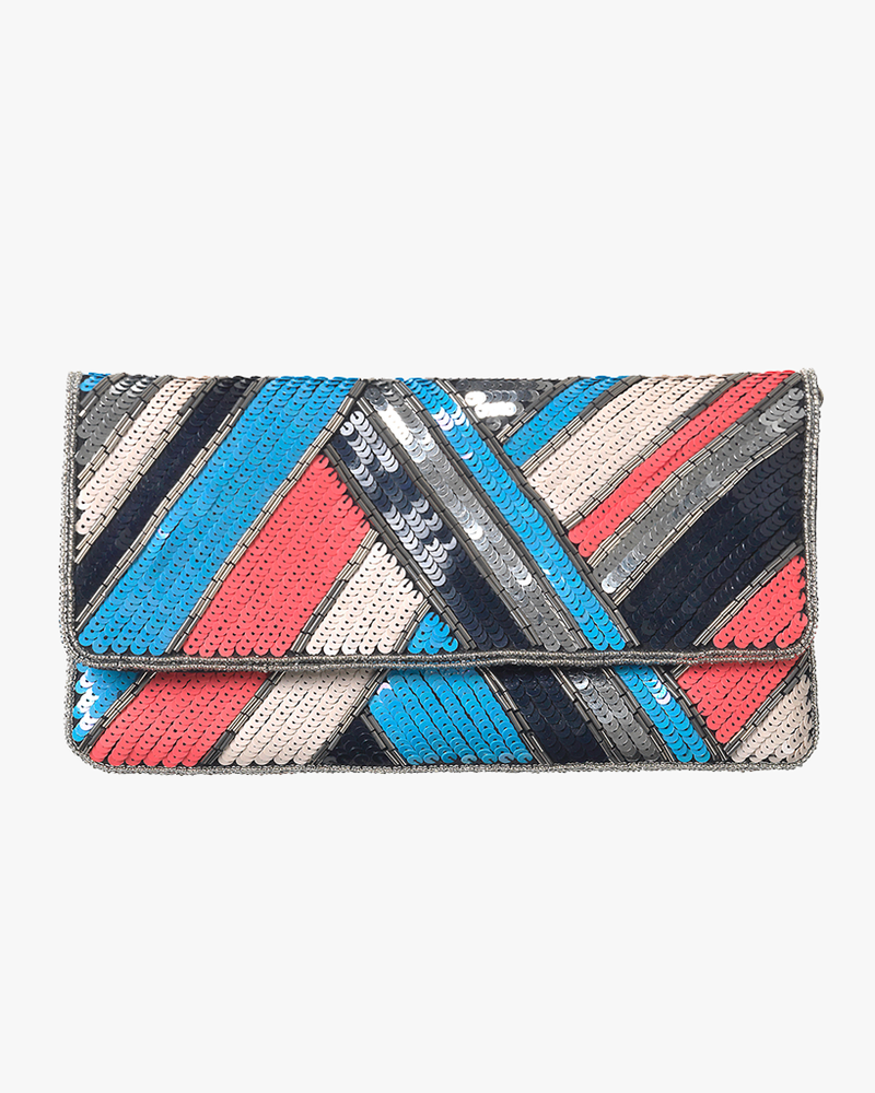 Sequined Clutch Dace - Lichen Blue
