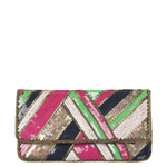 Sequined Clutch Dace - Pink Yarrow