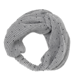 Hairband Dots - Grey