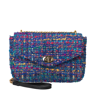 Fancy Bouclé Bag - Majolica Blue