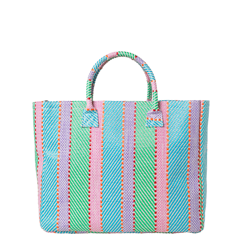 Mexi Shopper - Baby Blue