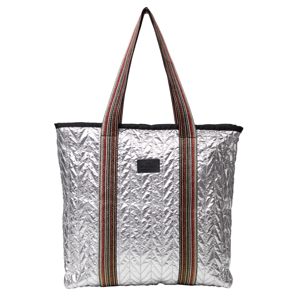 Rellana Metallic Shopper - Silver