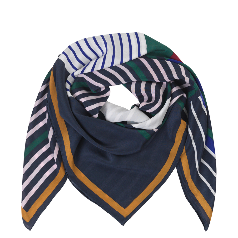 Silk Scarf - Carrel Verdant Green