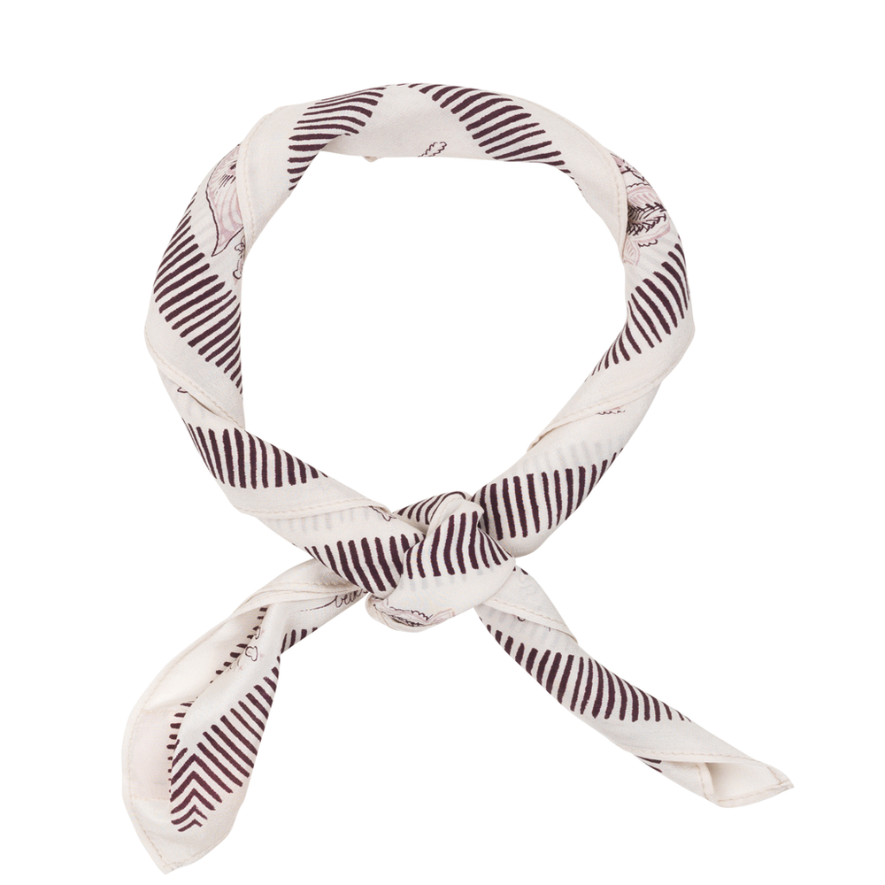 Silk Scarf - Weimea Burnish Lilac