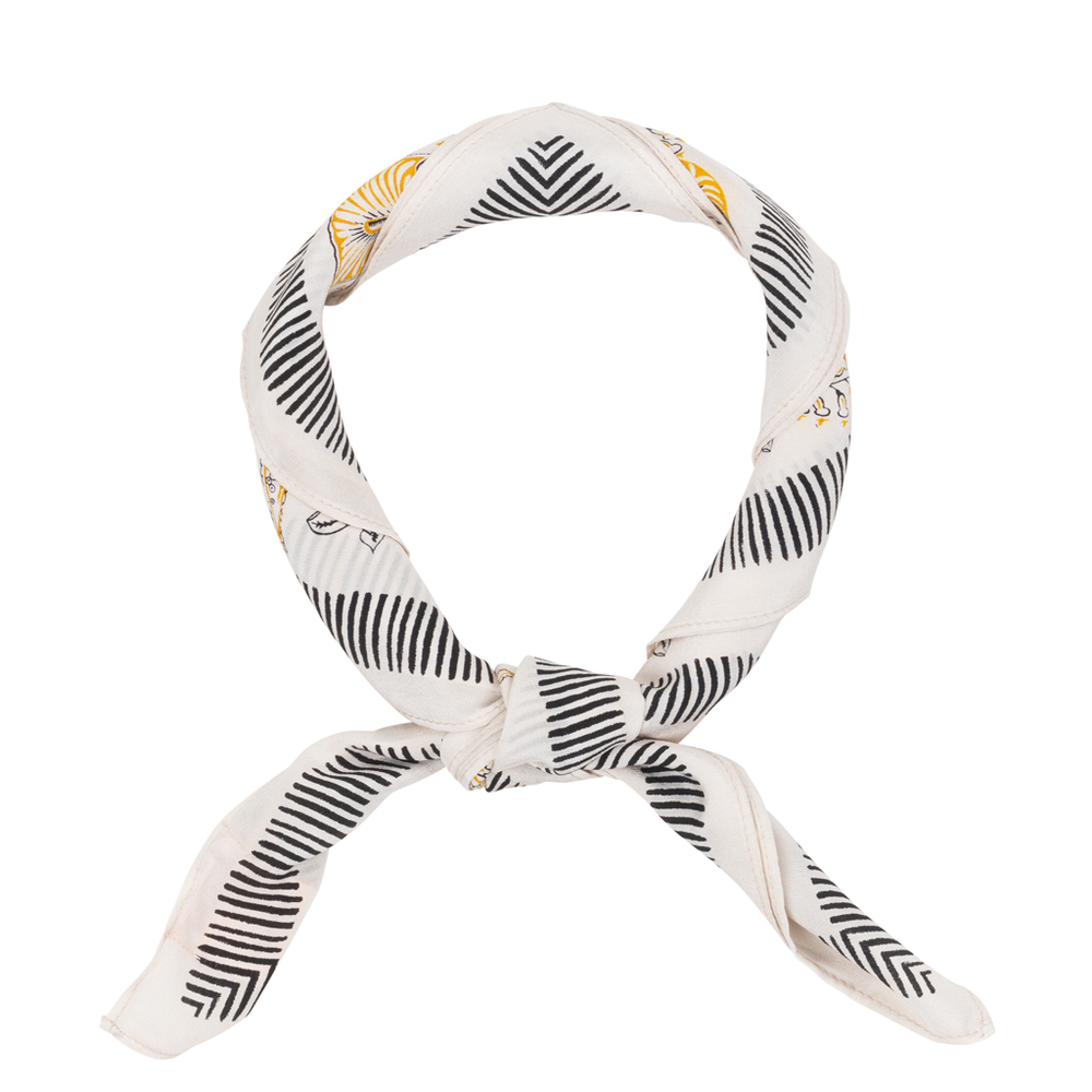 Silk Scarf - Weimea Golden Yellow
