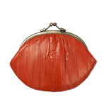 Granny Purse - Coral Red