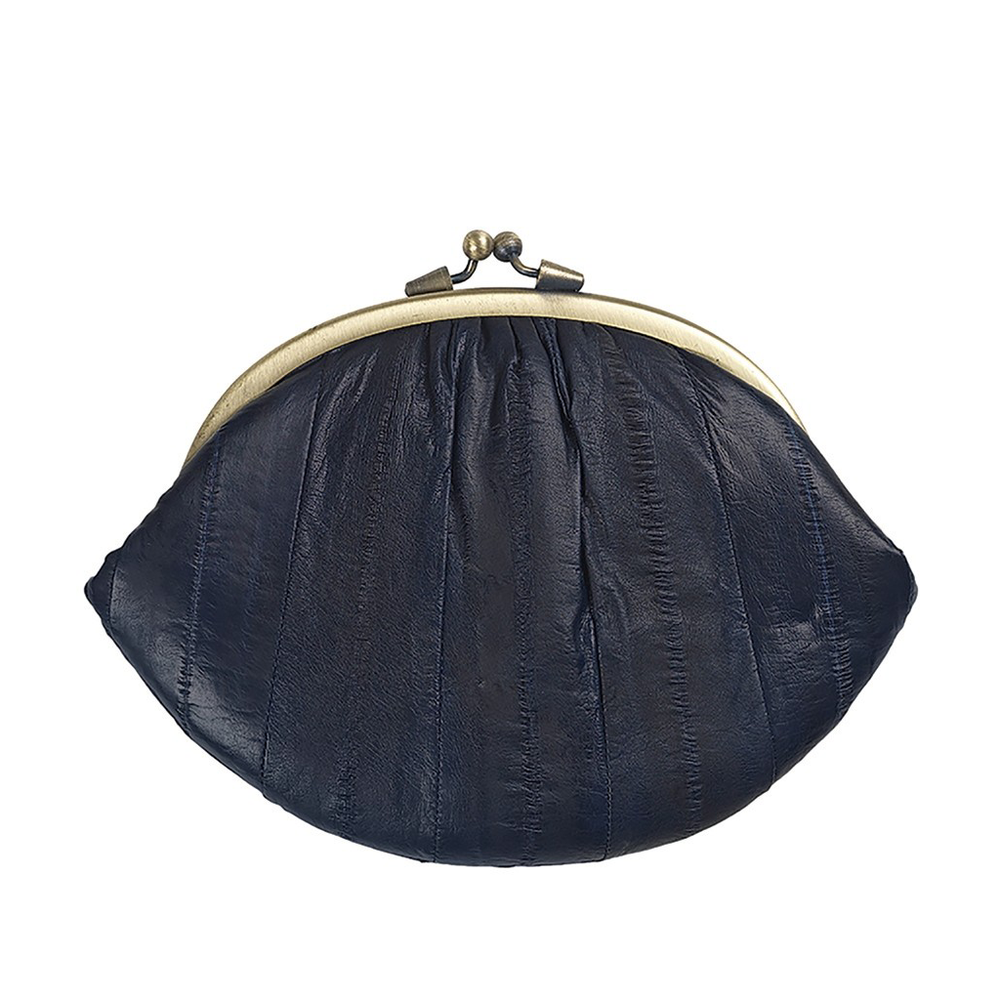 Granny Purse - Navy Blue